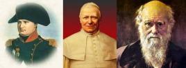 Napoleon - Pio IX - Darwin